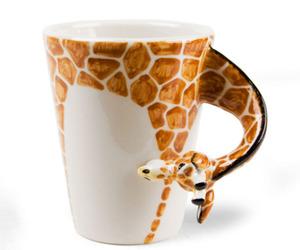 giraffe, cup, and mug image