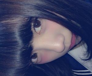 美少女, セーラー服, and やみかわいい image