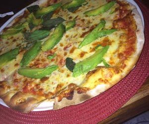 in love, pizza, and avo image