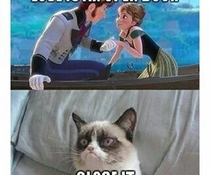love, frozen, and funny image