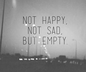 but, empty, and happy image