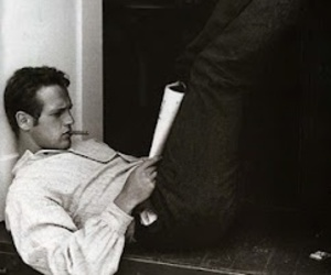 paul newman, black and white, and sexy image