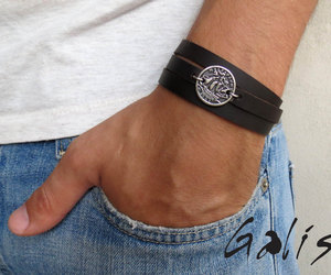 mens bracelets, mens jewelry, and gifts for men image