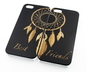 best friends, black, and phone cases image