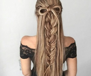 hair, long, and cute image