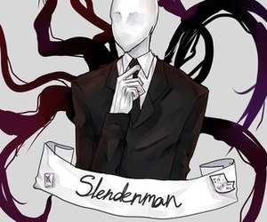creepypasta and slender+man image