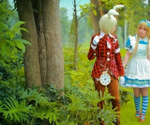 alice in wonderland, cosplay, and cute image
