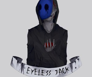 eyeless jack, creepypasta, and creepypastas image
