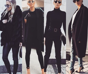 black and style image