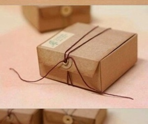 box, diy, and gift image