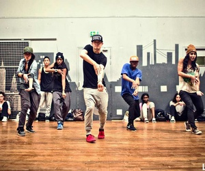 dance, dancing, and hip hop image