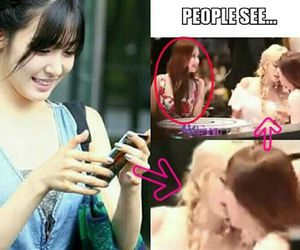 snsd, true love, and taeyeon image