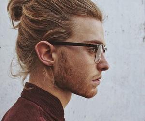 boy, glasses, and beard image