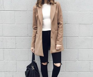 black, clothes, and jacket image