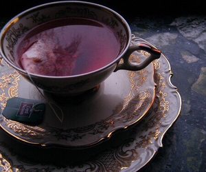 cup of tea, tea party, and vintage image