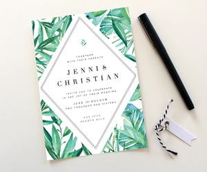 invitations, stationery, and wedding image