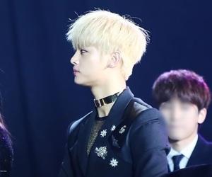 blonde, korean, and handsome image