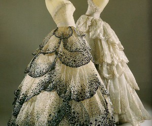 dress, dior, and vintage image