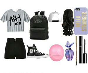 clothes, school outfit, and ashton irwin image