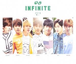 2016, infinite, and kpop image