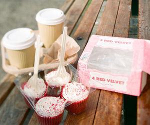 cupcake, food, and coffee image