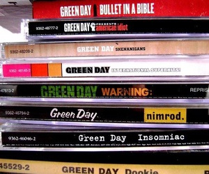 cd, green day, and photography image