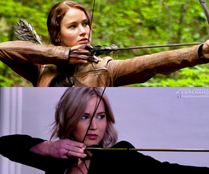 Jennifer Lawrence, katniss, and the hunger games image