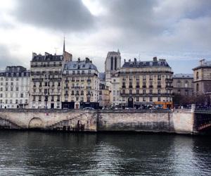 architecture, la Seine, and paris image