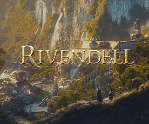 middle earth, the lord of the ring, and rivendell image
