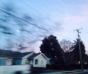 sky, grunge, and house image