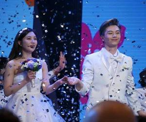 couple, kpop, and we got married image