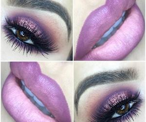 lipstick, make-up, and beautiful image