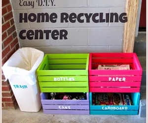 diy, ideas, and recycle image