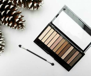 beauty, brown, and cosmetic image