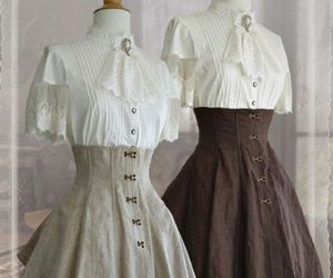 dress, lolita, and victorian image