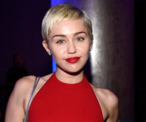 makeup, miley cyrus, and red image