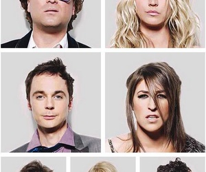 the big bang theory, penny, and leonard image