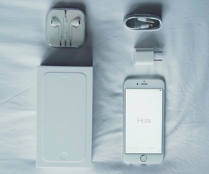 iphone, white, and iphone 6 image