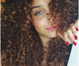 curly and eyes image