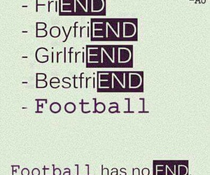 football and end image