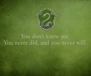 slytherin, quotes, and harry potter image