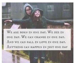 one day, quote, and if i stay image