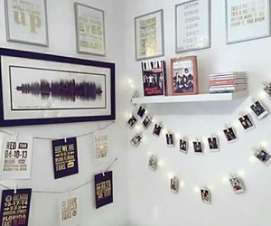 room, white, and one direction image