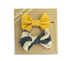 bows, fashion, and stripes image