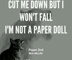 paper doll and bea miller image