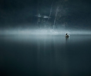 alone, scary, and deep image