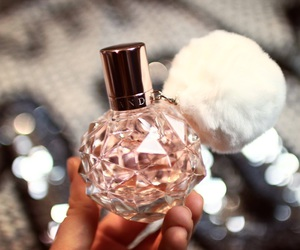fragrance, girl, and pink image