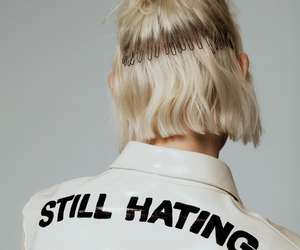fashion, white, and hate image