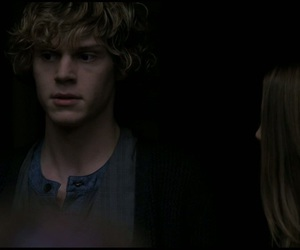 evan peters, ahs, and violet harmon image