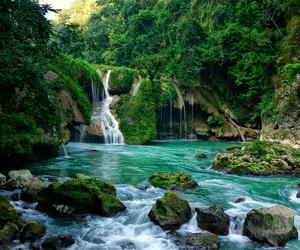 beautiful, waterfall, and amazing image